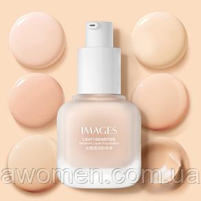 Легкий тональный крем IMAGES Light-Sensitive Foundation 30 ml  № 001 (цвет натуральный)