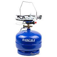Комплект газовий 5л, кемпінг з п'єзопідпалом Comfort SIGMA (2903111)