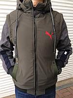 Куртка мужская, осень, трансформер  Размеры: 48-50-52-54-56, 5шт в ростовке, фото 1