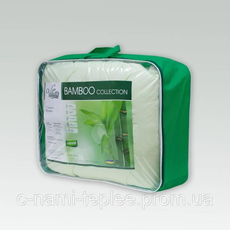 """Одеяло Viluta """"Bamboo"""" силиконовое стеганое 140х205 см"""