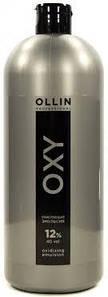 Окисляющая эмульсия 12% 40 vol. Ollin Professional Color Oxidizing Emulsion 1000 мл