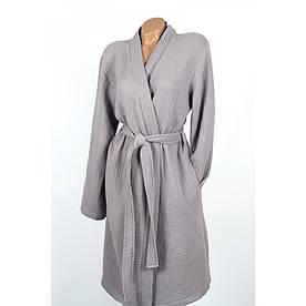 Халат Barine - Cocoon dark grey темно-серый L