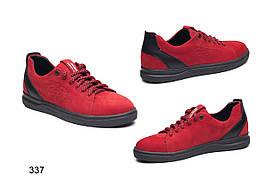 Туфли подростковые, натуральный нубук