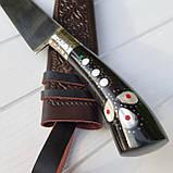 Узбекский нож пчак с рукоятью из эбонита (Н_103), фото 3