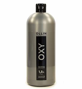 Окисляющая эмульсия 1,5% 5 vol. Ollin Professional Color Oxidizing Emulsion 1000 мл