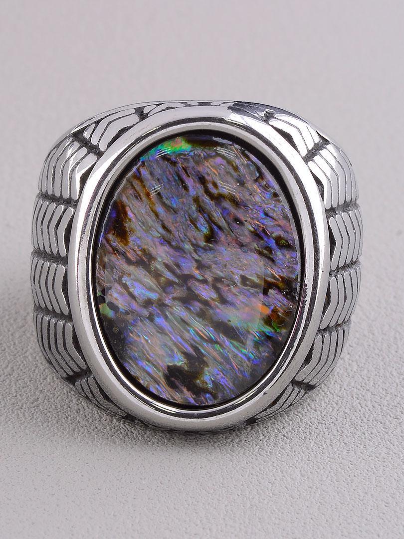Кольцо на палец  'Stainless Steel' Галиотис Медицинская сталь 316L25,5 г