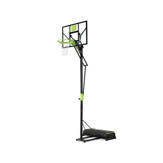Пересувний баскетбольний щит Polestar EXIT green/black на коліщатках