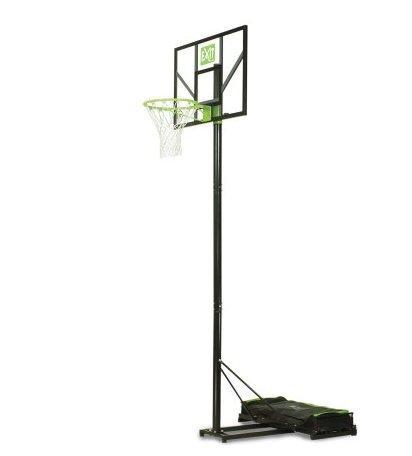 Переносная баскетбольная стойка EXIT Comet green/black