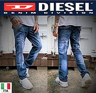 Молодежные джинсы скинни Diesel Bravo&Vigos. Мужские демисезонные джинсы.