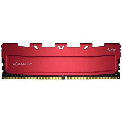 Модуль памяти для компьютера DDR4 16GB 3200 MHz Red Kudos eXceleram (EKRED4163217A)
