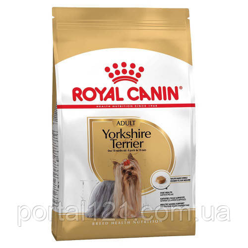 Сухой корм Royal Canin Yorkshire Terrier Adult для йоркширского терьера, 7.5 кг