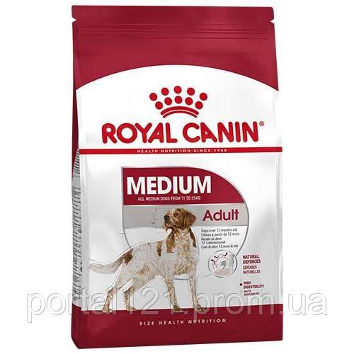 Сухой корм Royal Canin Medium Adult для собак средних пород, 4 кг