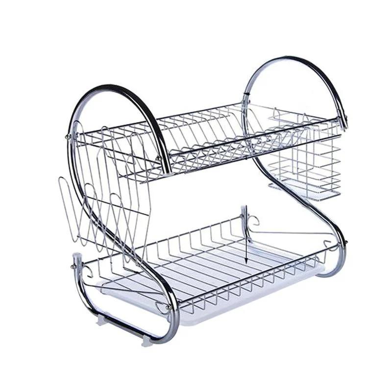 Стійка для зберігання посуду kitchen storage rack