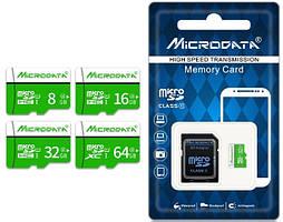Карта памяти MicroData microSD карта 32Gb (10 class) с адаптером