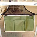 Стол для пикника раскладной с подвесной полкой Ranger + 4 стула + чехол Original (1102), фото 4