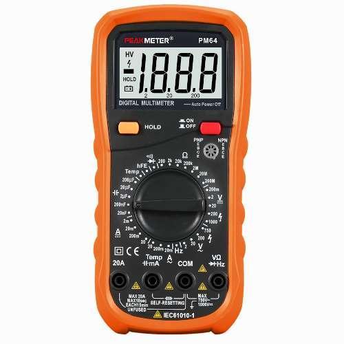 Купить Профессиональный мультиметр с термопарой PROTESTER PM64