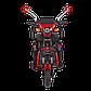 Электрический мопед  AGAMI xk 500W/48V/20AH(MG) (красный), фото 4