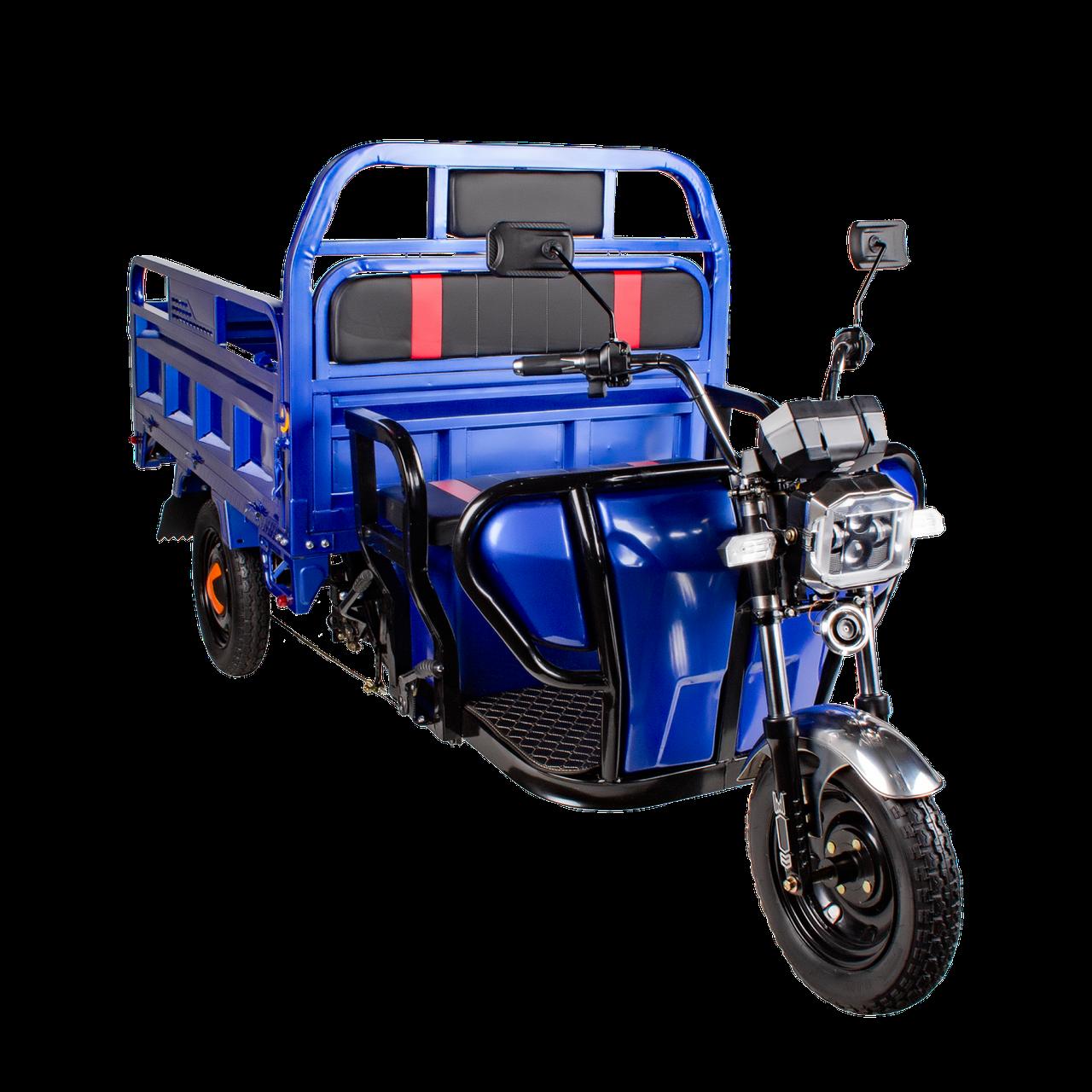Электрический мопед TRIGO JJ1.6  1000W/60V/35AH(DZM) (синий)