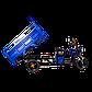 Электрический мопед TRIGO JJ1.6  1000W/60V/35AH(DZM) (синий), фото 5