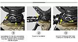 Тріопод Fiery Deer DX-004-01 G4 4-е поколение, фото 8