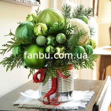 Новогодний декор,новогодние шары,новогодняя хвоя