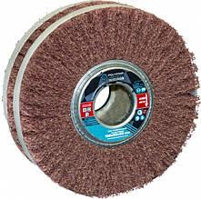 Скотч-брайт круг шлифовальный лепестковый КШЛ 150х50х32 мм, P80