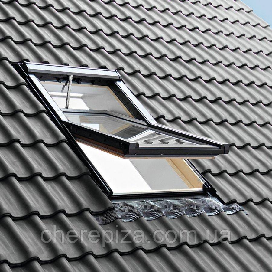Вікно мансардне Roto QT-4_H3P AL 078/140 P5F