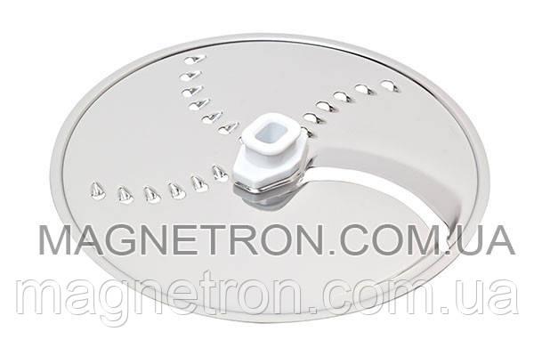 Двухсторонний диск для тонкой нарезки / мелкой терки для кухонного комбайна Bosch 650965, фото 2