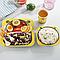 Набор детской посуды  5 предметов из бамбука Зайка, фото 4