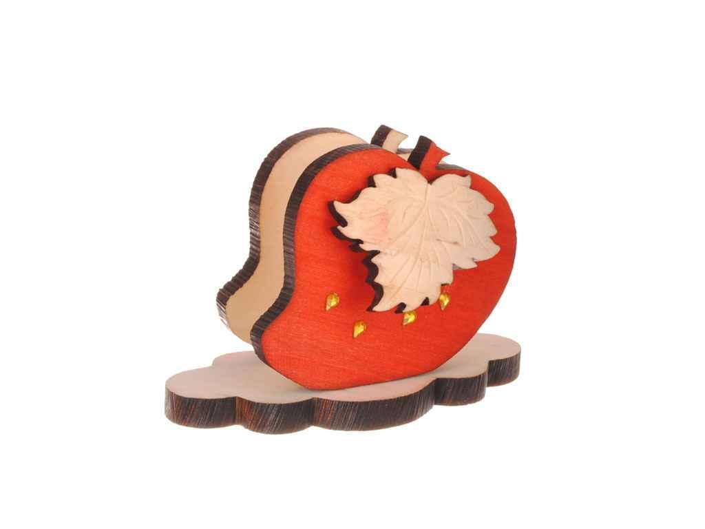 Салфетница деревянная Клубника