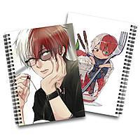 Скетчбук Моя геройская академия   Boku no Hero Academia 06