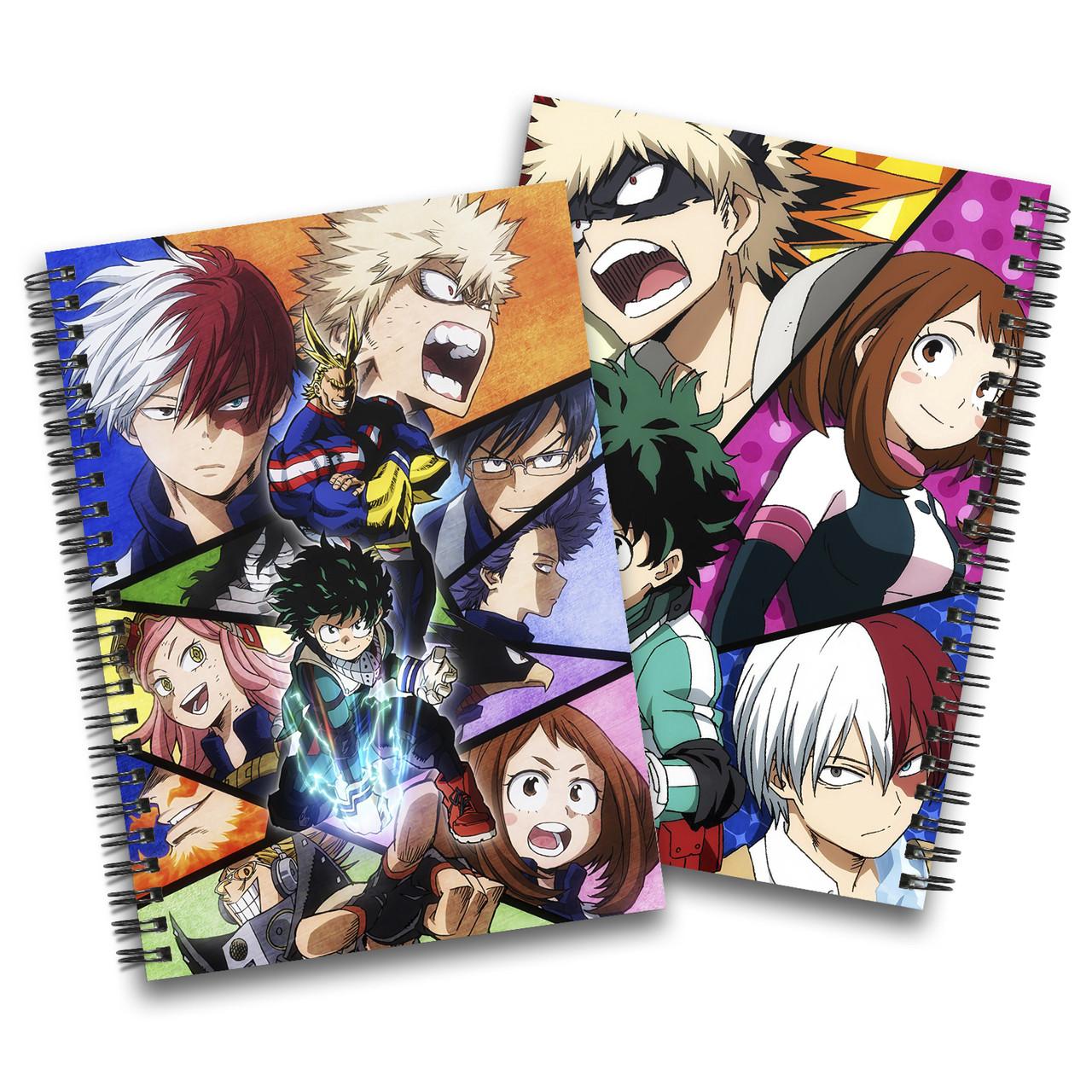 Скетчбук Моя геройская академия | Boku no Hero Academia 15