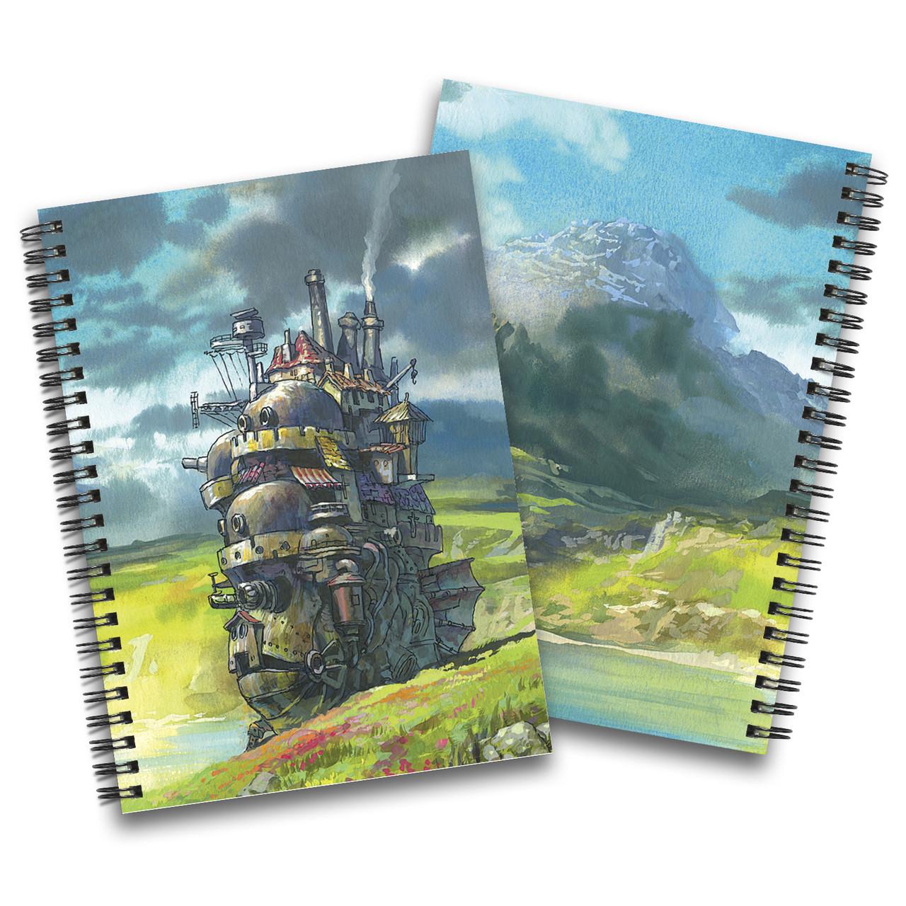 Скетчбук Ходячий замок | Howl's Moving Castle 04