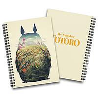Скетчбук Мій сусід Тоторо | My Neighbor Totoro