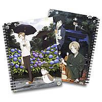 Скетчбук Тетрадь дружбы Нацумэ | Natsume Yuujinchou 02