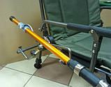 Карповое кресло Elektrostatyk с подлокотниками и столиком (F5R ST/P), фото 3