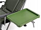 Карповое кресло Elektrostatyk с подлокотниками и столиком (F5R ST/P), фото 8