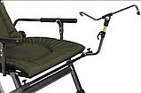 Карповое кресло Elektrostatyk с подлокотниками и столиком (F5R ST/P), фото 9
