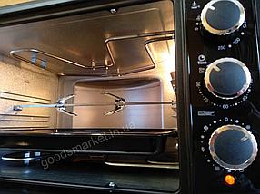 Духовка електрична ASEL TURBO на 40 літрів , гриль + конвекція + підсвічування ( два дека ), фото 2