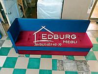 Диван для узкой кухни, коридора с ящиком + спальным местом 1850х550х800мм, фото 1