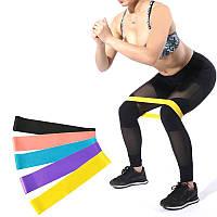 Резинка для фитнеса и спорта (лента эспандер) эластичная OSPORT Profi L (MS 1852-2)