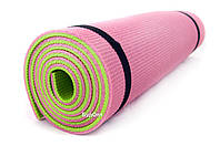 Коврик (каремат) для йоги, фитнеса и спорта OSPORT Спорт 12мм (FI-0083-2)