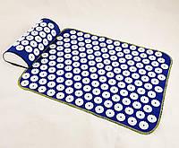 Набір килимок акупунктурний масажний + подушка Аплікатор Кузнєцова (n-0002)