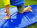 Борцовский спортивный мат ППЕ НХ для борьбы, дзюдо в чехле из ПВХ OSPORT 2м х 1м толщина 4см (FI-0097), фото 7