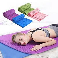 Коврик полотенце для йоги OSPORT Yoga mat towel (FI-4938)
