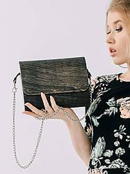 Сумка женская Amberwood Cora черное дерево SKL61-261258
