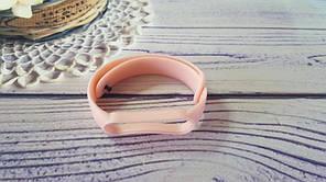 Ремінець для фітнес-бреслета Xiaomi Mi Band 5, рожевий світлий