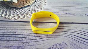 Ремінець для фітнес-браслета Xiaomi Mi Band 3, Mi Band 4, жовтий