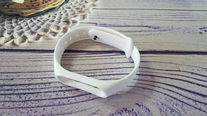 Ремінець для фітнес-браслета Xiaomi Mi Band 3, Mi Band 4, білий