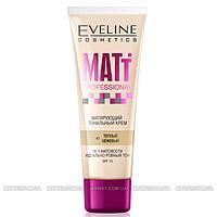 Eveline - Тональный крем для лица матирующий Matt Professional 30мл